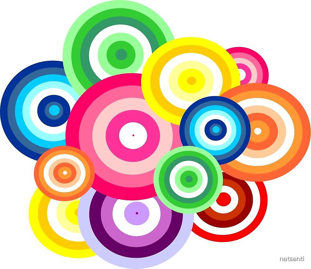 Happy circles by natsanti