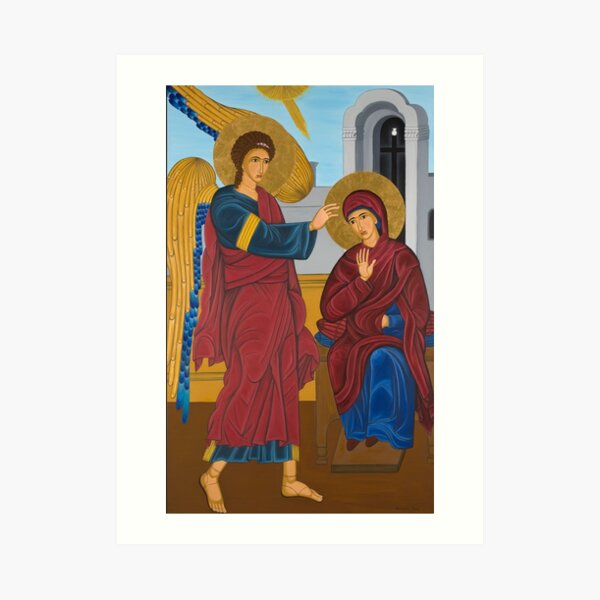 EVAGELISMOS Byzantine Art (2009) Art Print