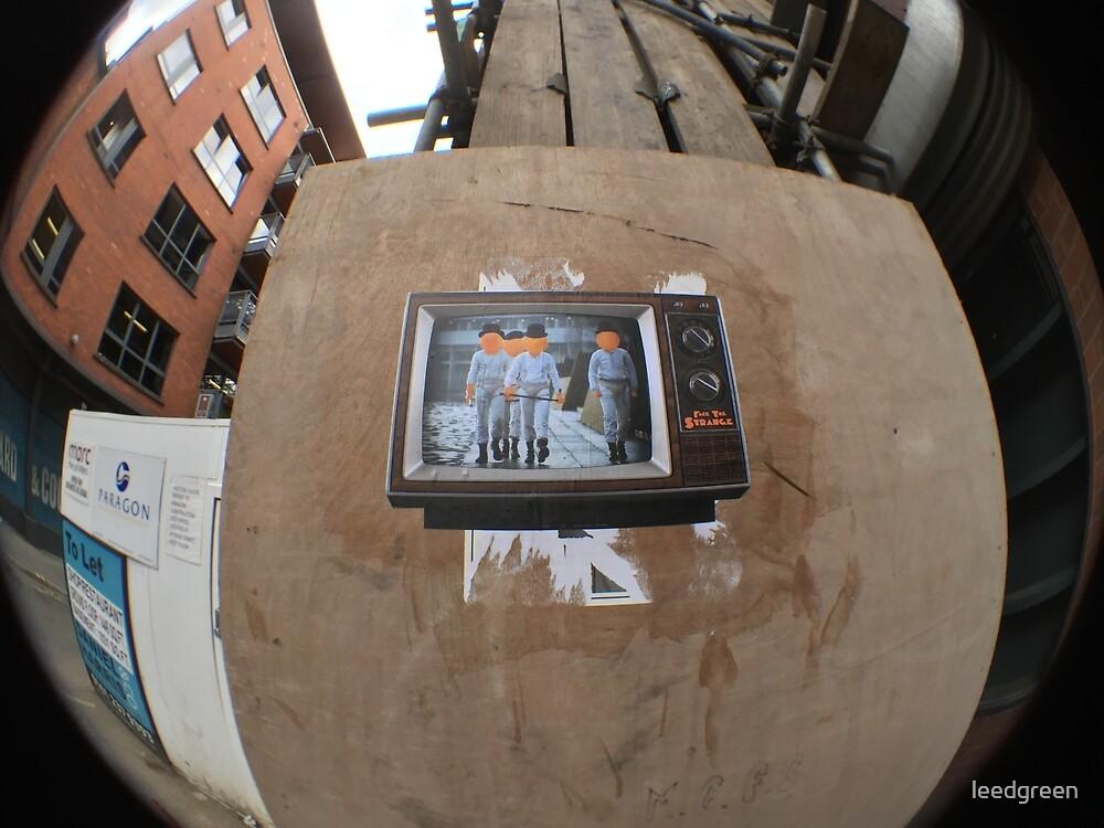 A Clock Work Orange in Manchester by leedgreen