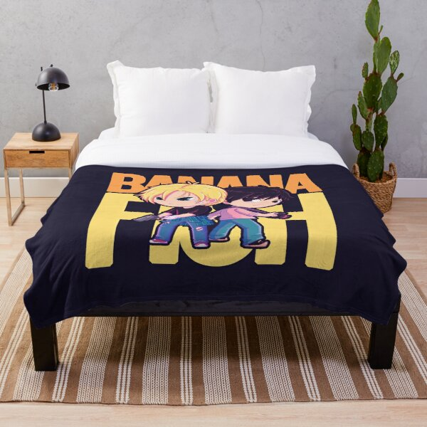 Banana Fish Throw Blanket