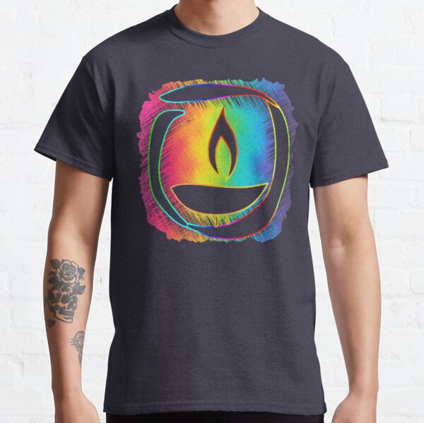 Rainbow Ribbon Chalice Classic T-Shirt