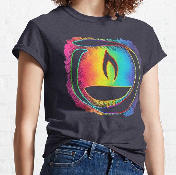 Rainbow Ribbon Chalice Classic T-Shirt
