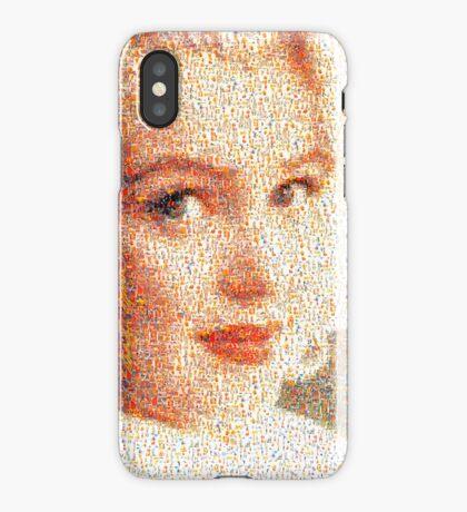 """Marilyn Monroe - Mosaic #6"" phone iPhone Case"