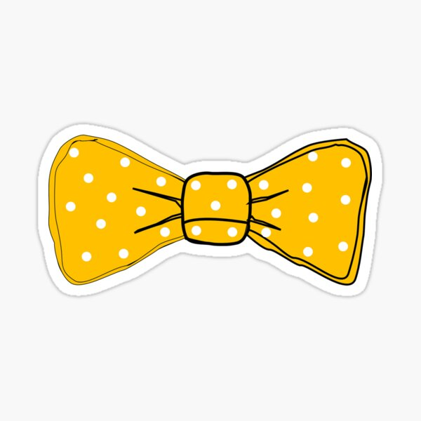 Holiday Lights Sunflower Freckles Bow Tie