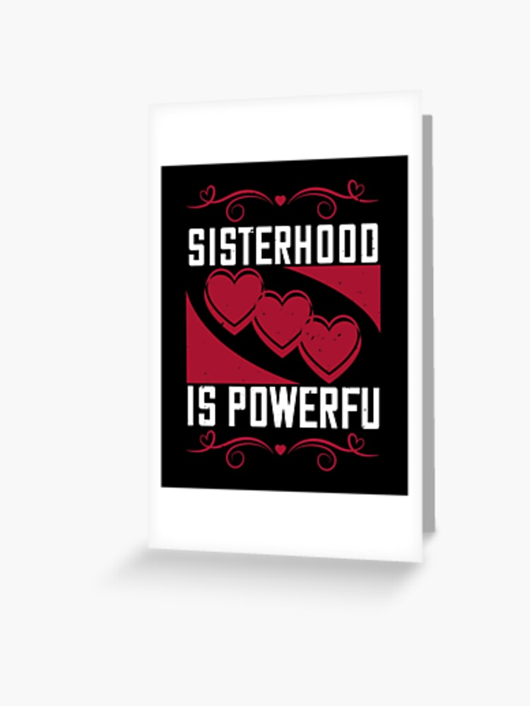 Best Birthday Gift For Sister Greeting Card By Faska Redbubble