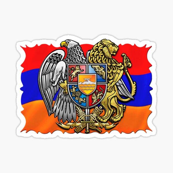Armenian National Flag Հայոց ազգային դրոշը Sticker