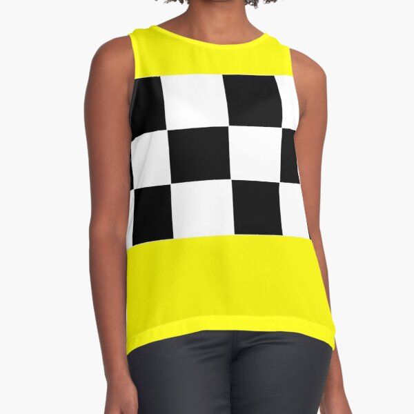 Taxi Chic Sleeveless Top