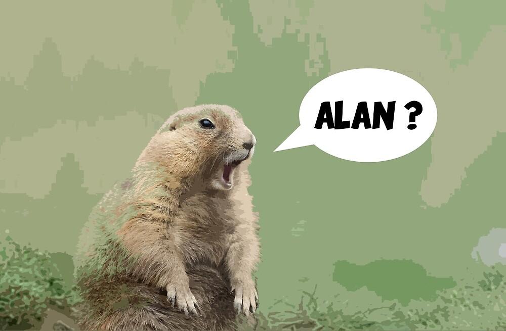 Meerkat - Shouting Alan  by sirllamalot
