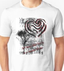 What Love Is ? Abstract Design T-Shirt