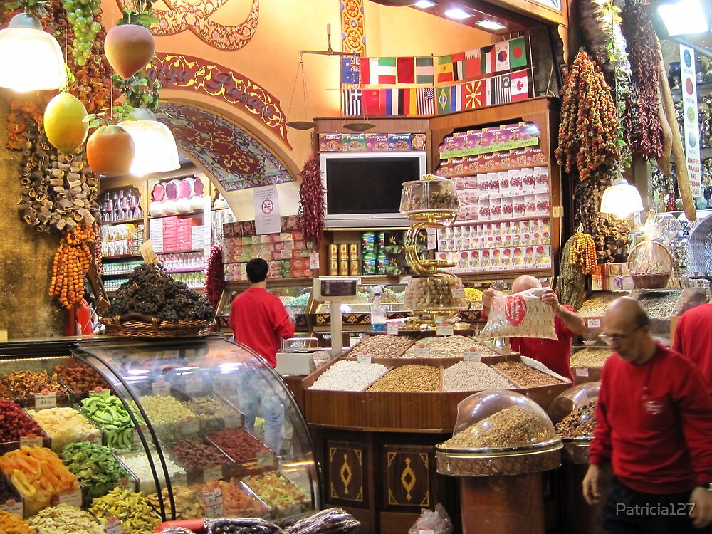 The Egyptian Spice Market by Patricia127