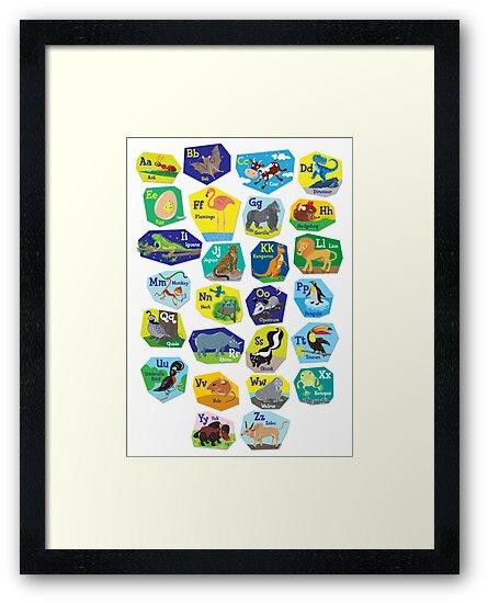 Alphabet for Children by Lyuda