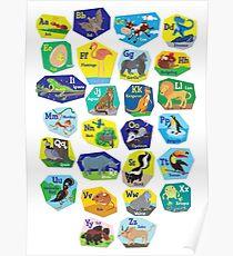 Alphabet for Children Poster