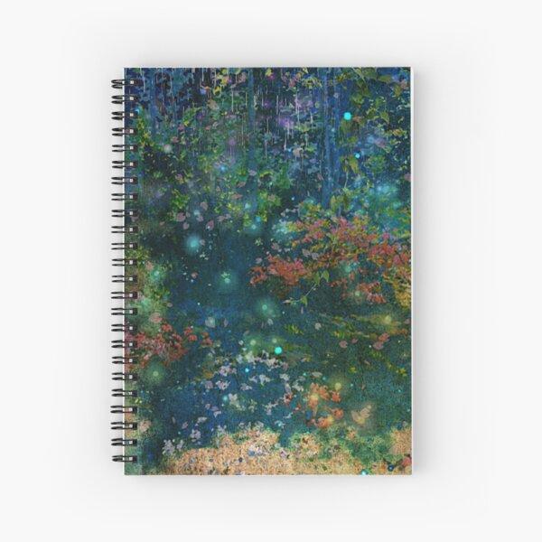 Night Garden Spiral Notebook