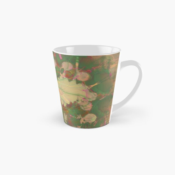 Fractalized floral abstraction Tall Mug