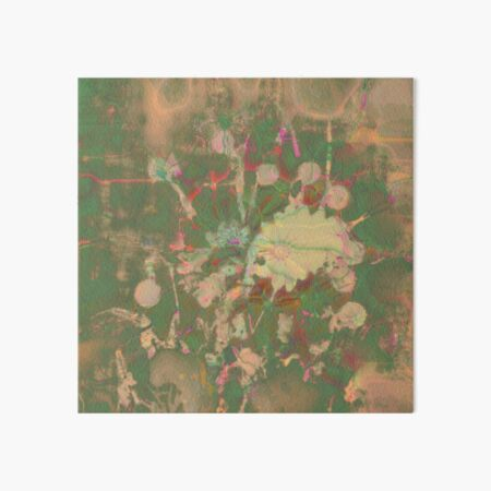 Fractalized floral abstraction Art Board Print