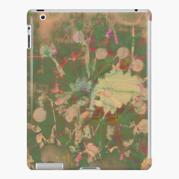 Fractalized floral abstraction iPad Snap Case