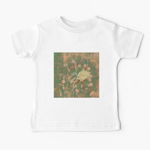 Fractalized floral abstraction Baby T-Shirt