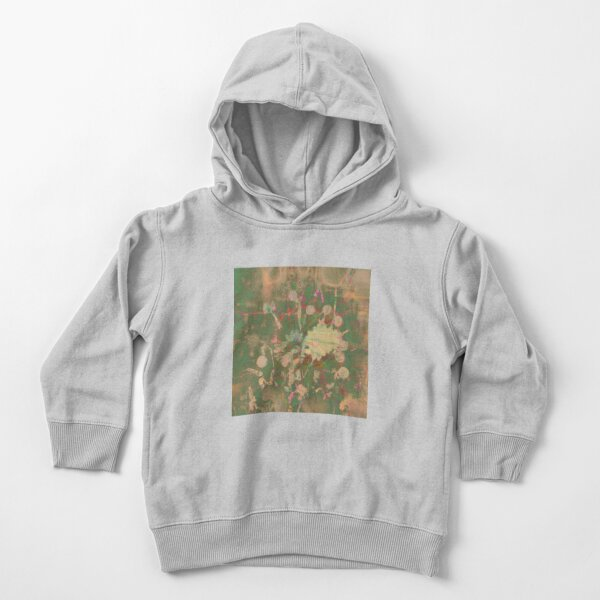 Fractalized floral abstraction Toddler Pullover Hoodie