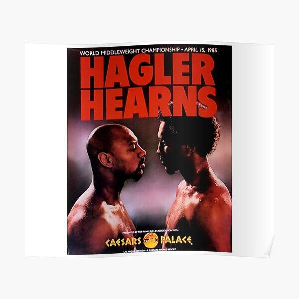 Hagler v Hearns  Poster