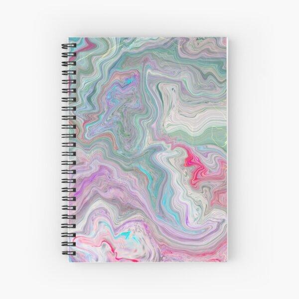 Pink Geode Spiral Notebook
