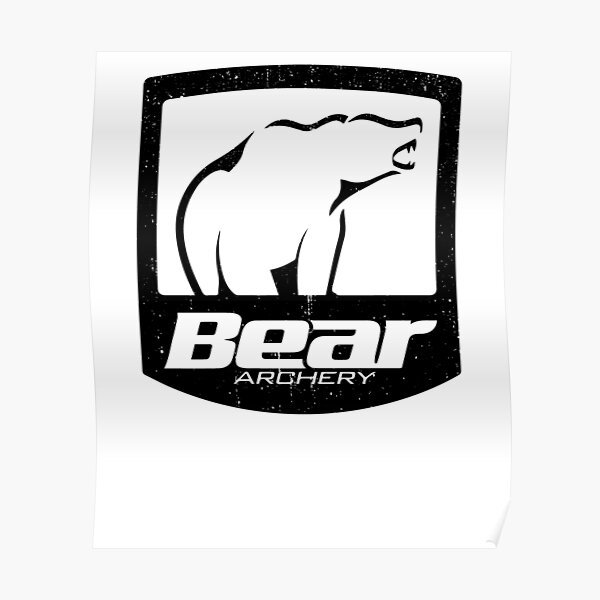 Bear Archery Bowhunting Poster