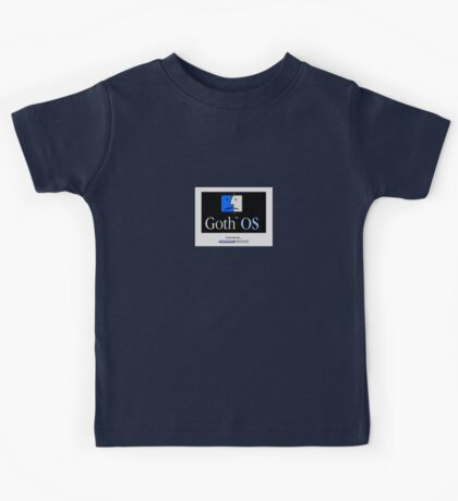 Goth OS (System 9) Kids Clothes