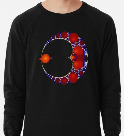 Amber II - Black Lightweight Sweatshirt