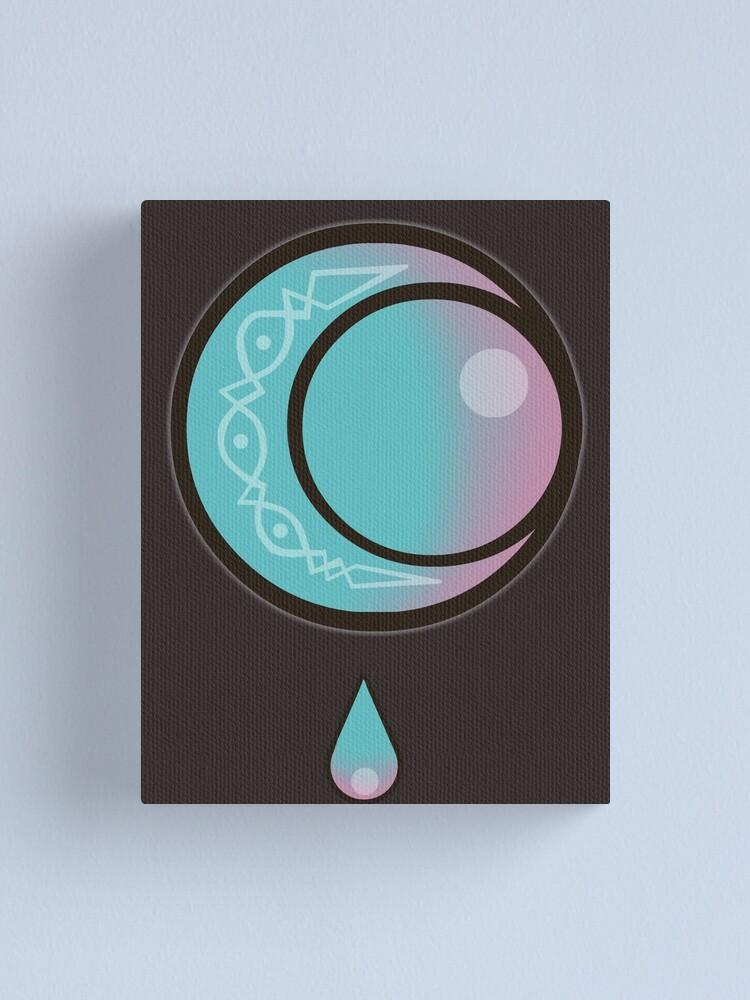 Moon Drop Cassandra Tangled The Serie Canvas Print By Floddthewendigo Redbubble