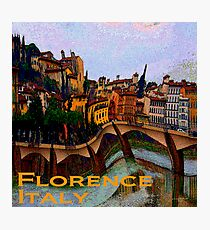 Wacky Florence, Italy Photographic Print