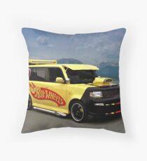 2005 Scion Hot Wheels Throw Pillow