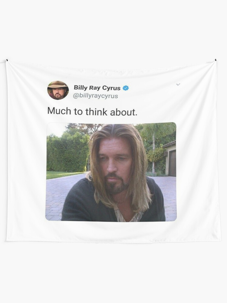 Alternate view of Billy Ray Cyrus Tapestry