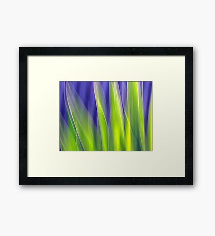 On the Other Side Framed Print