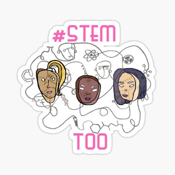 Strong Women in Science  Sticker