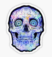 Spaceskull Sticker