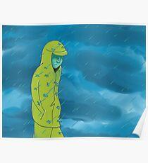 Walk in the Seattle Rain Poster