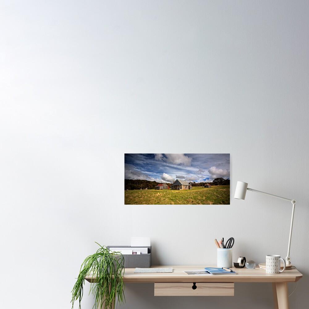 Coolamine Homestead, Kosciuszko National Park Poster