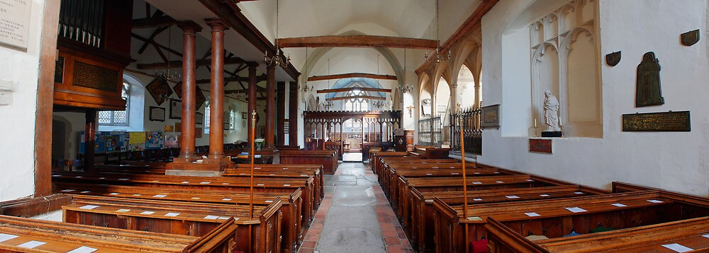 Nave - St Mary, Langley Marish by Dave Godden