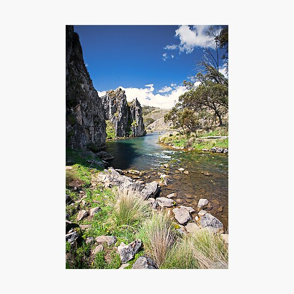 Caves Creek, Kosciuszko National Park Photographic Print
