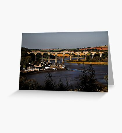St Germans Viaduct Greeting Card