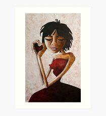 Nothing Evolves Us Like Love Art Print