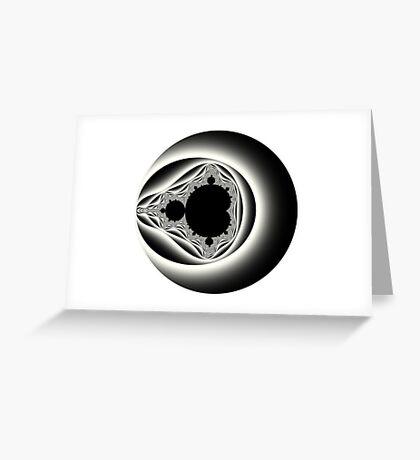 Clasic I Greyscale Greeting Card