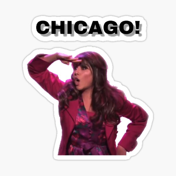 Trina Vega Chicago Sticker Sticker