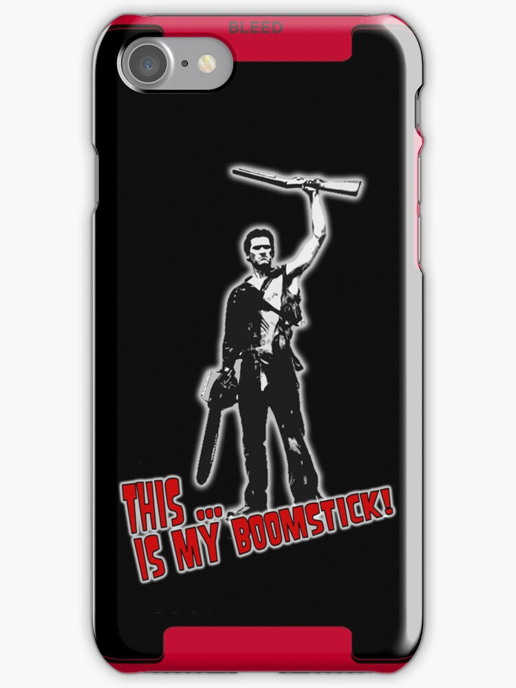 Ash - Evil Dead/Army of Darkness - Boomstick iPhone Case by Monsterkidd