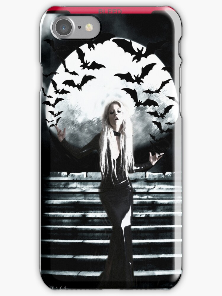 Nocturna iPhone Case by Monsterkidd