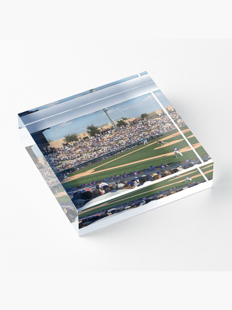 Alternate view of 2020 Cubs Spring Training Acrylic Block
