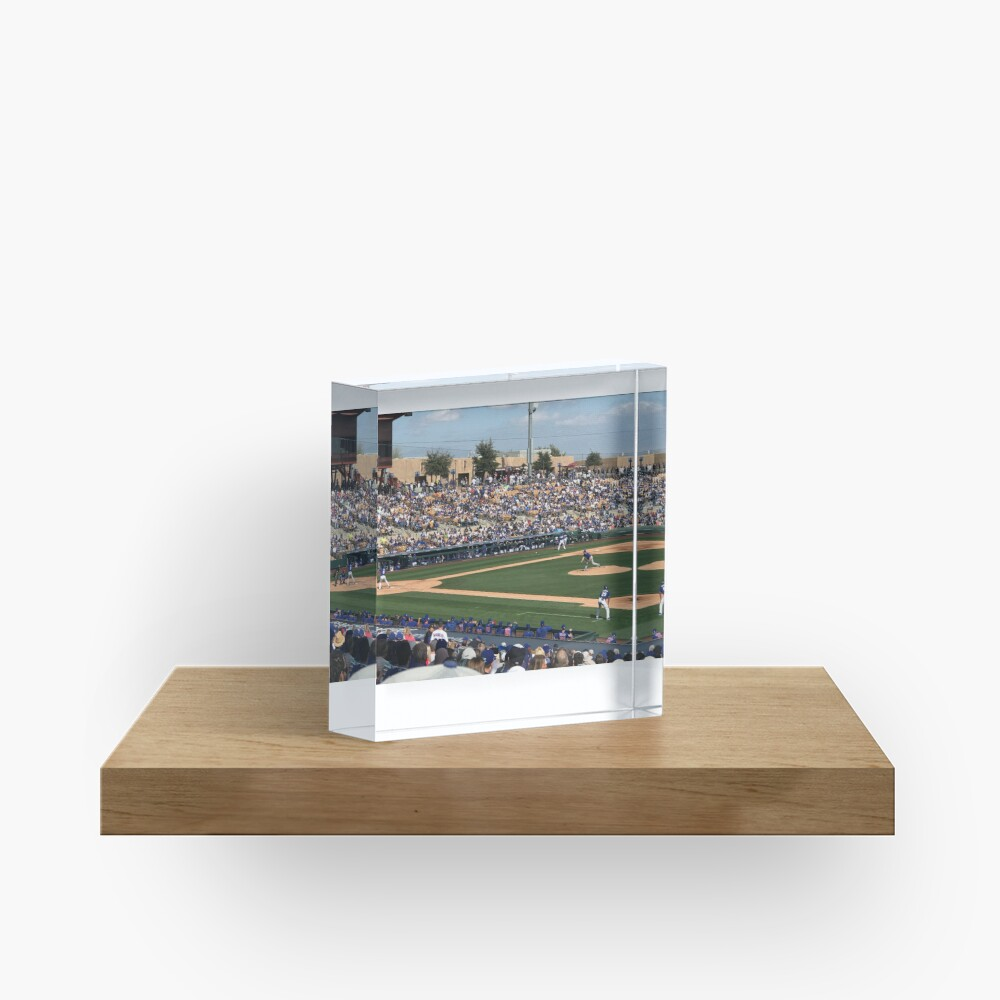 2020 Cubs Spring Training Acrylic Block