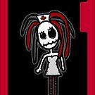 Nurse iPhone Case by Monsterkidd