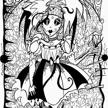 Gothic Doll by traubk