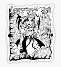 Gothic Doll Sticker