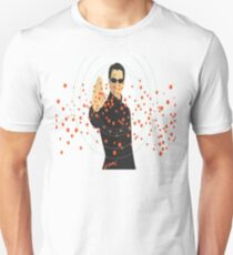 Neo stopping bullets Unisex T-Shirt